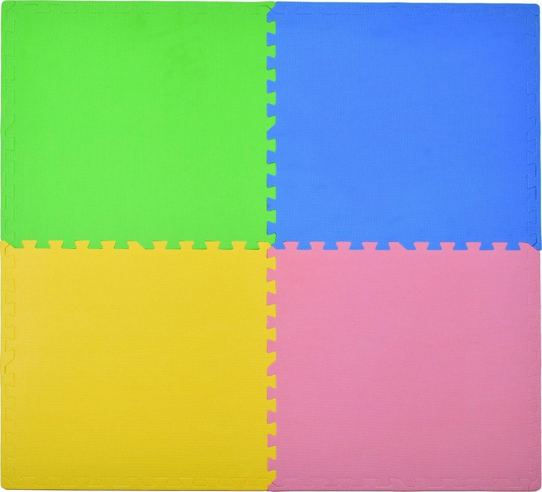 Humbi Humbi Puzzle piankowe Mata piankowa kolorowa 62 x 62 x 1 cm 4 szt. uniwersalny 1