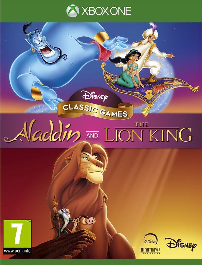 Disney Classic Games: Alladyn & Król Lew Xbox One 1