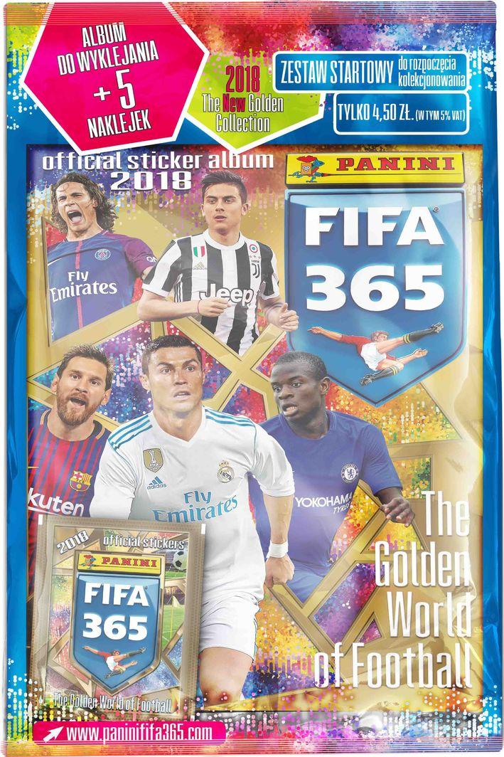 Panini Karty Panini. FIFA 365 Adrenalyn XL 2018 album do wklejania % BPZ 1