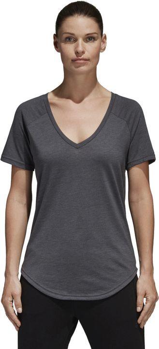 Adidas Koszulka damska Image Tee szara r. XL (S97200) ID produktu: 6323709