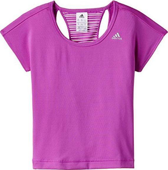 Adidas Koszulka dziecięca Yg W F Tee różowa r. 170 (S21646) ID produktu: 6323723