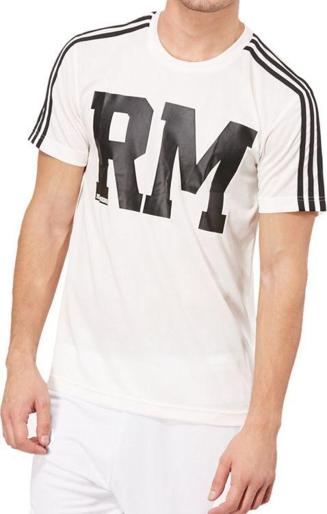 Adidas Koszulka męska REAL CO PES TEE biała r. XXL (F85667) ID produktu: 6323896