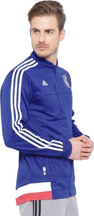 Adidas Bluza męska Cfc Anth Jkt niebieska r. S (AA1656) ID produktu: 6324107