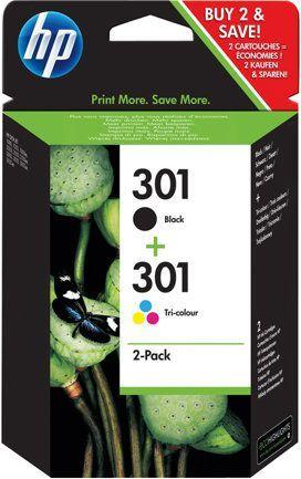 HP nr 301 Ink Cartridge 2-Pack (E5Y87EE) 1