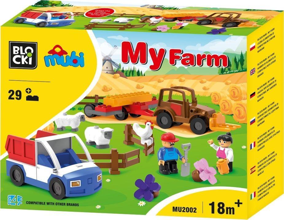 Icom Klocki Toys 4 All Mubi MyFarm 29 elementów 1
