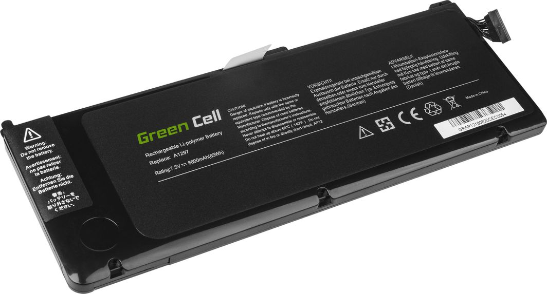 Bateria Green Cell Bateria Green Cell A1309 do Apple MacBook Pro 17 A1297 (Early 2009, Mid 2010) 1