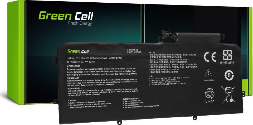 Bateria Green Cell C31N1528 do Asus ZenBook Flip UX360C UX360CA 2900mAh 1