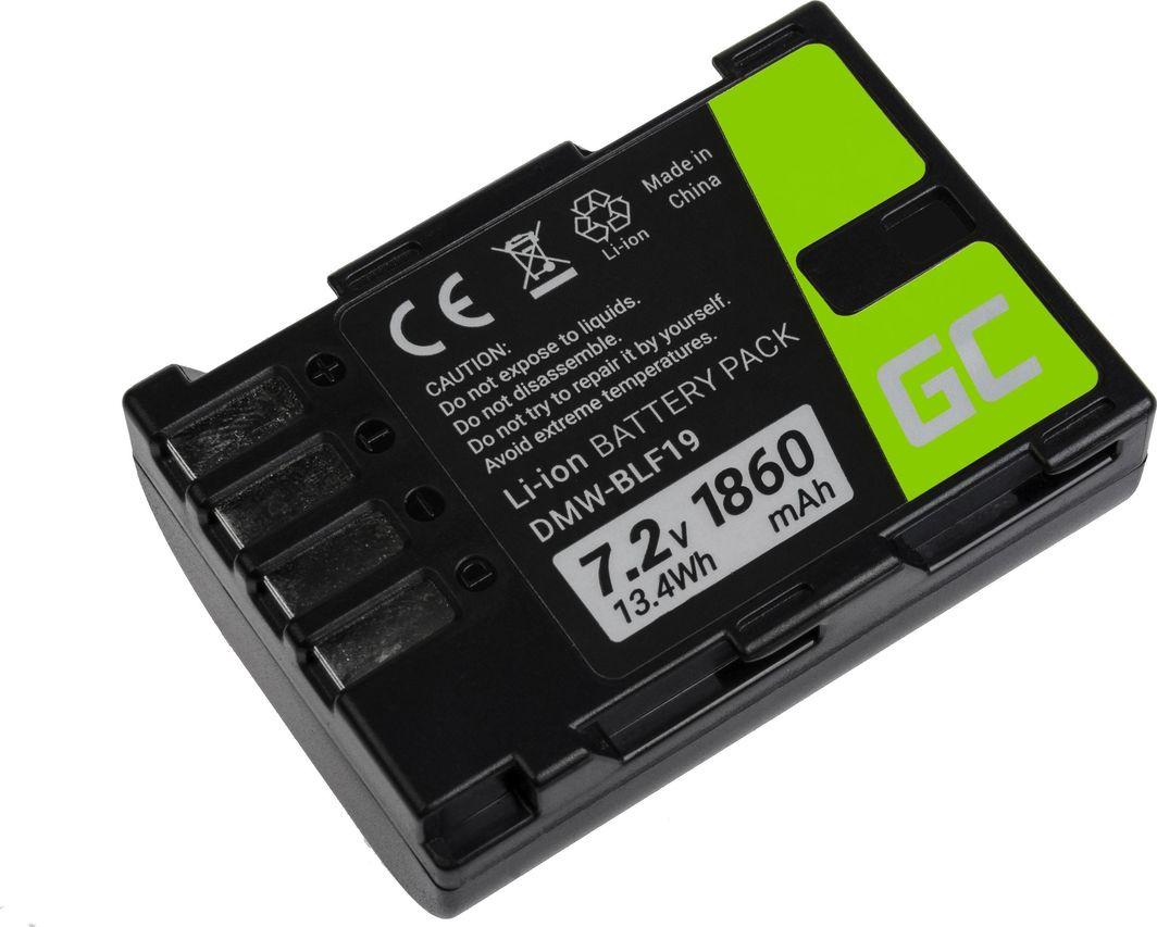 Akumulator Green Cell Bateria Green Cell ® DMW-BLF19 do Panasonic Lumix DC-G9 DC-GH5 DC-GH5s DMC-G9 DMC-GH3 DMC-GH4 7.2V 1860mAh 1