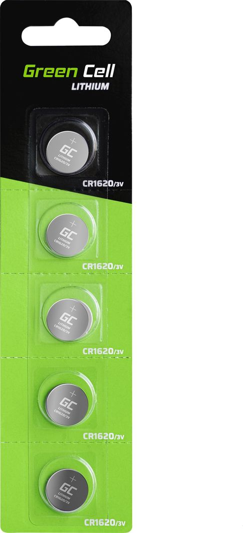 Green Cell Bateria CR1620 70mAh 5szt. 1
