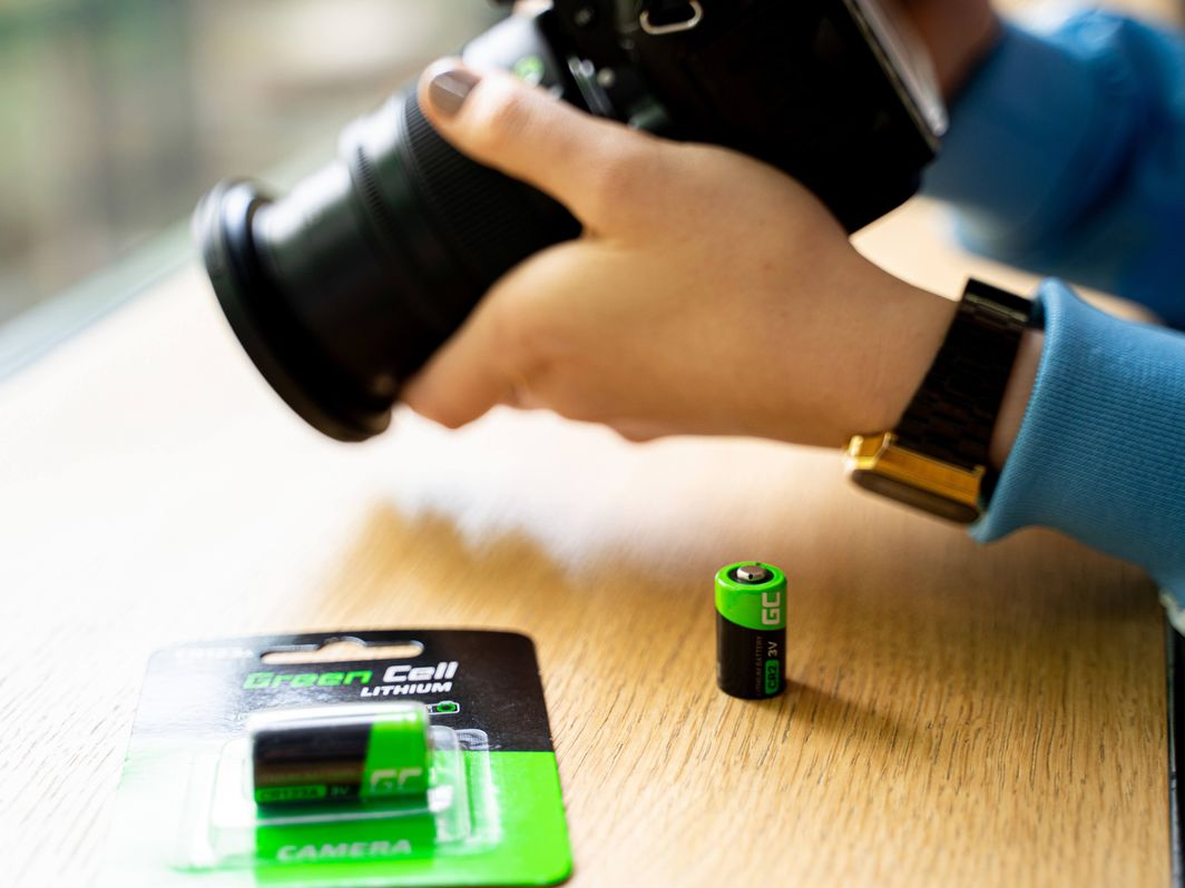 Green Cell Bateria CR123 1400mAh 1szt. 1