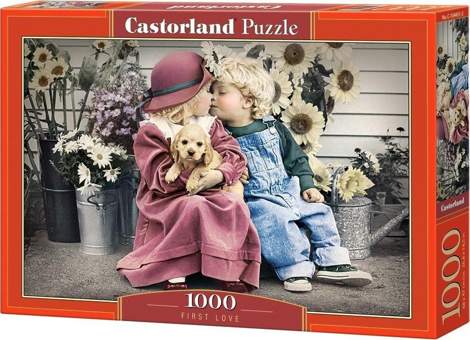 Castorland Puzzle 1000 Pierwszy Pocałunek 1