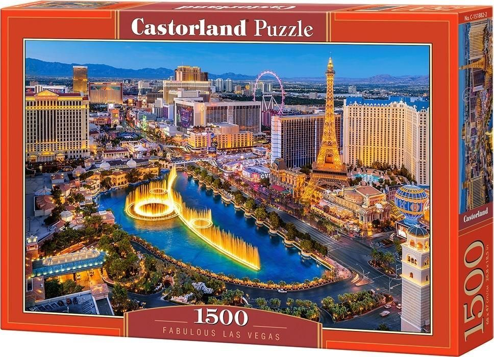 Castorland Puzzle 1500 Fantastyczne Las Vegas 1