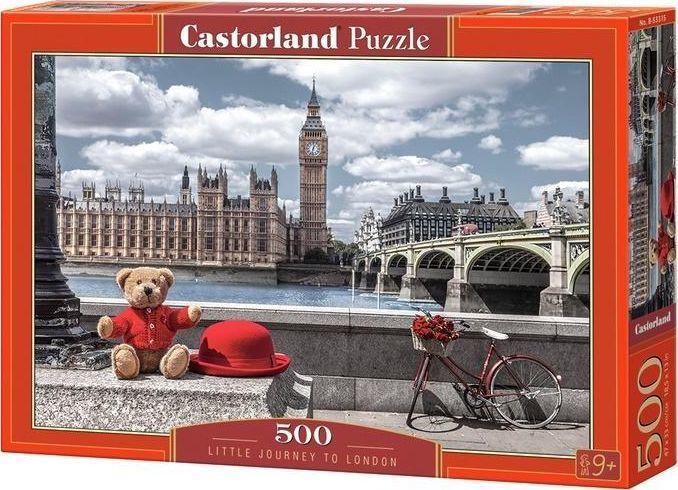Castorland Puzzle 500 Mała wycieczka do Londynu 1