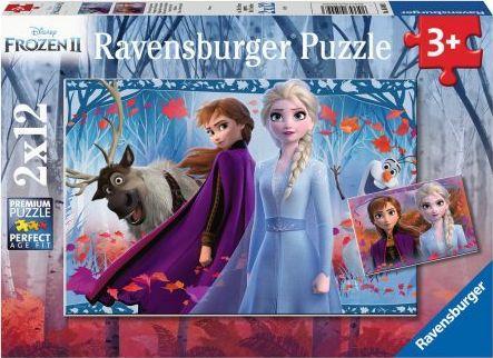Ravensburger Puzzle 2x12 Frozen 2 1