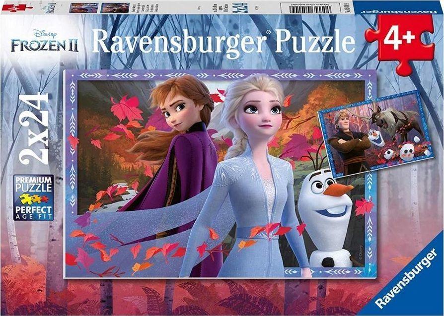 Ravensburger Puzzle 2x24 Frozen 2 1