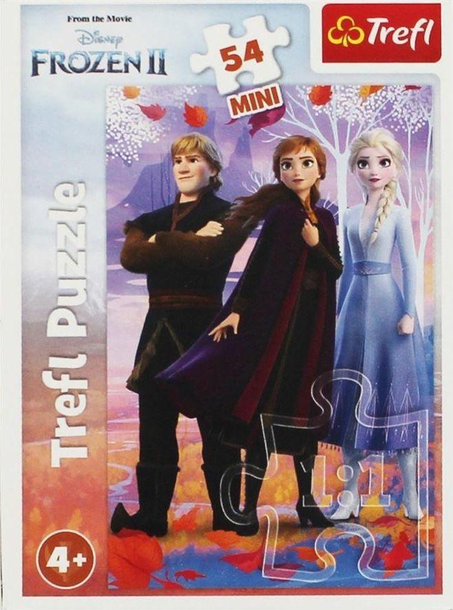 Trefl Puzzle 54 mini W świecie Anny i Elsy 3 1