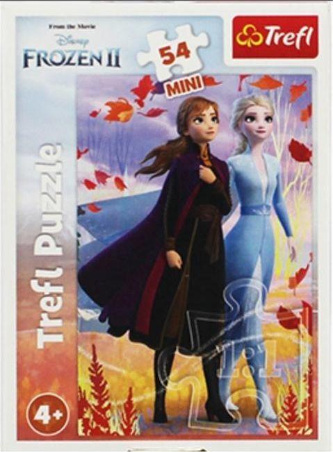 Trefl Puzzle 54 mini W świecie Anny i Elsy 2 1