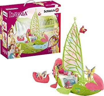 Figurka Schleich Bayala Seras magiczna łódka z kwiatami Sery (42444) 1
