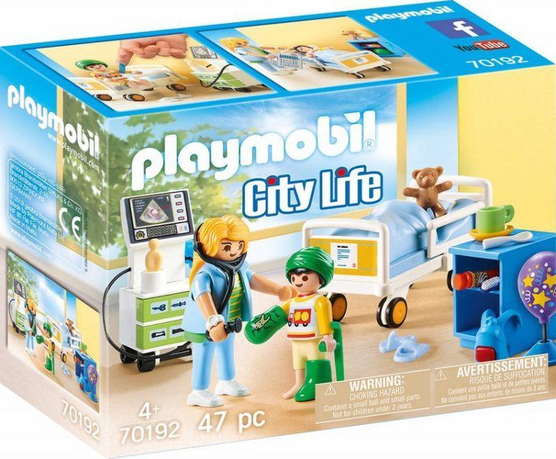 Playmobil Szpitalny pokój dziecięcy (70192) 1