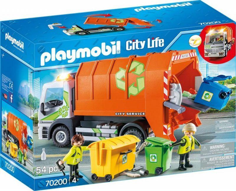 Playmobil Śmieciarka (70200) 1