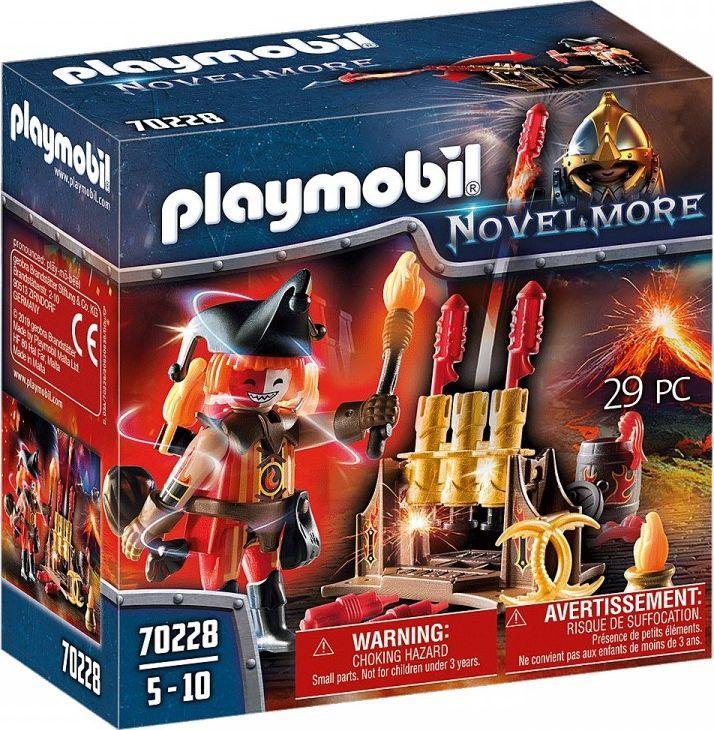 Playmobil Ogniomistrz Wojowników Burnham (GXP-736528) 1