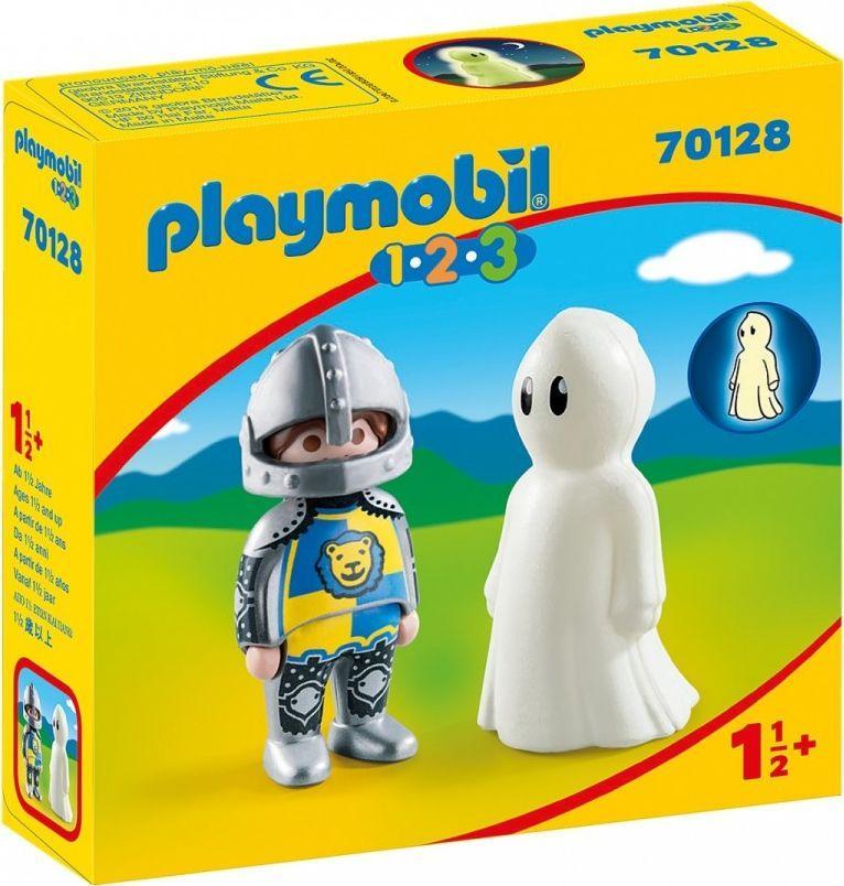 Playmobil 1.2.3 Rycerz z duchem (GXP-736497) 1
