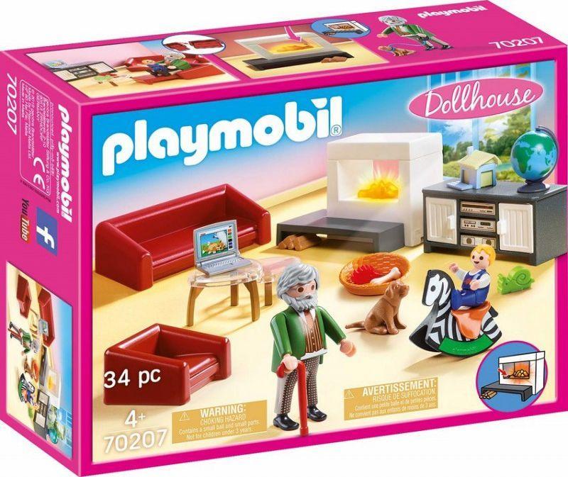 Playmobil Przytulny salon (70207) 1