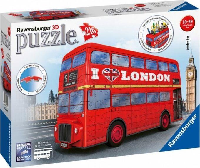 Ravensburger Ravensburger 3D Puzzle London Bus 216 - 12534 1