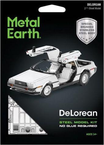 Metal Earth Metal Earth Delorean Model 1