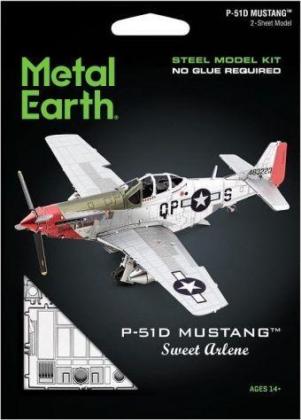 Metal Earth Metal Earth Mustang P-51D Sweet Arlene, model 1