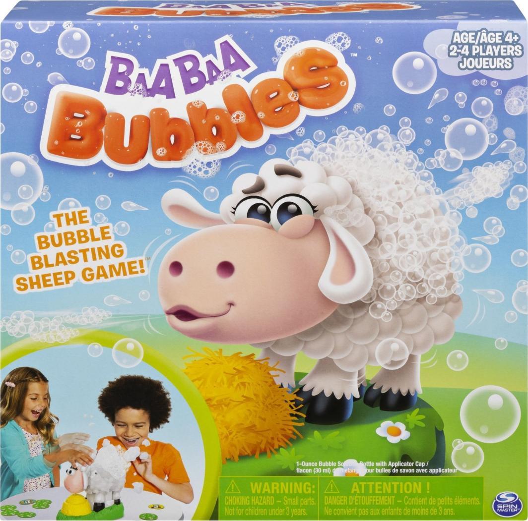 Spin Master Gra planszowa Games Baa Baa Bubbles (6054455) 1