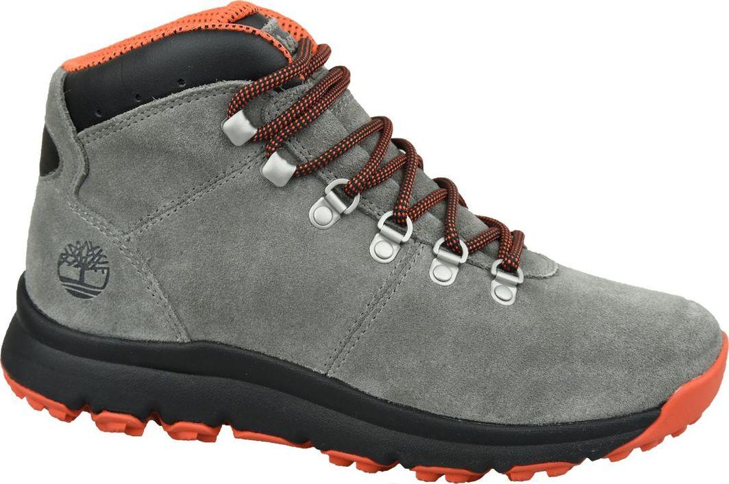 Timberland Buty m?skie World Hiker Mid szare r. 43.5 (A1Z11) ID produktu: 6333293