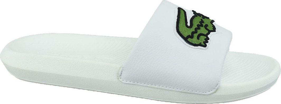 Lacoste Klapki męskie Croco Slide białe r. 43 (738CMA0073082) 1