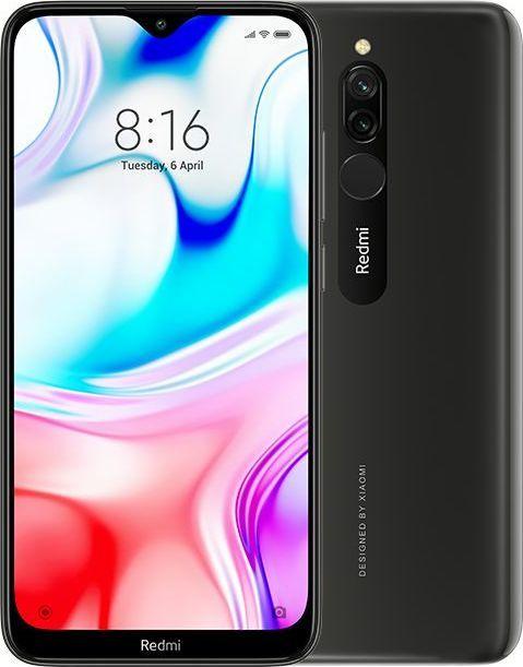 Smartfon Xiaomi Redmi 8 32 GB Dual SIM Czarny  (MZB8265EU) 1