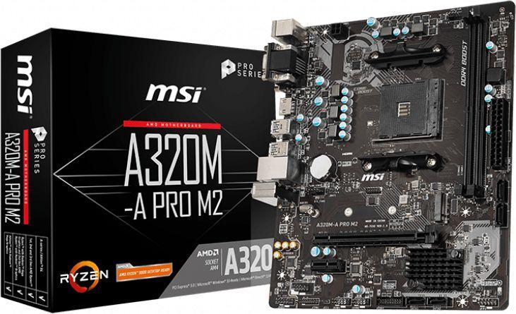 Płyta główna MSI A320M-A PRO M2 1