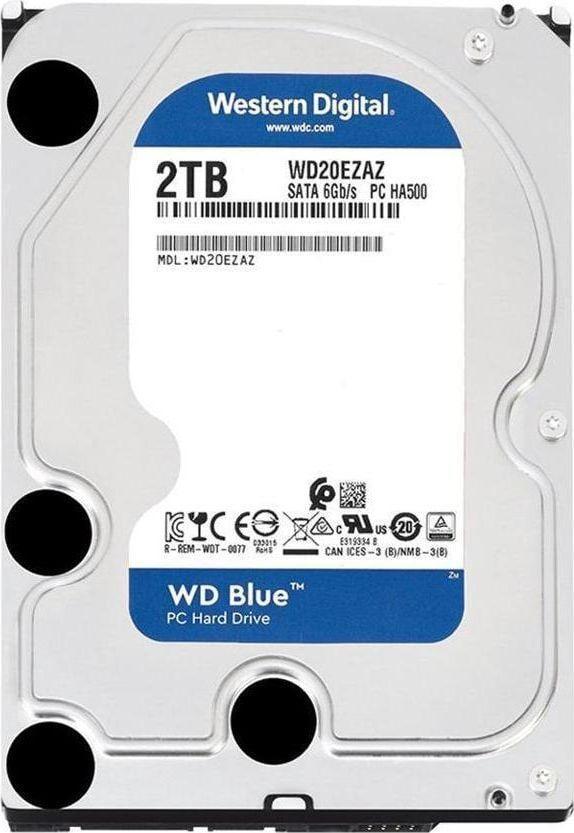 """Dysk Western Digital Blue 2 TB 3.5"""" SATA III (WD20EZAZ) 1"""