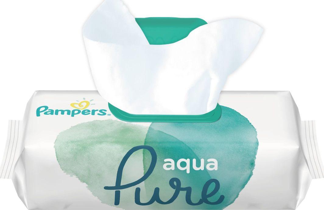Pampers Chusteczki nawilżane Aqua Pure 48 szt. 1