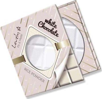 Lovely White Chocolate Rice Powder transparentny puder ryżowy do twarzy 9g 1