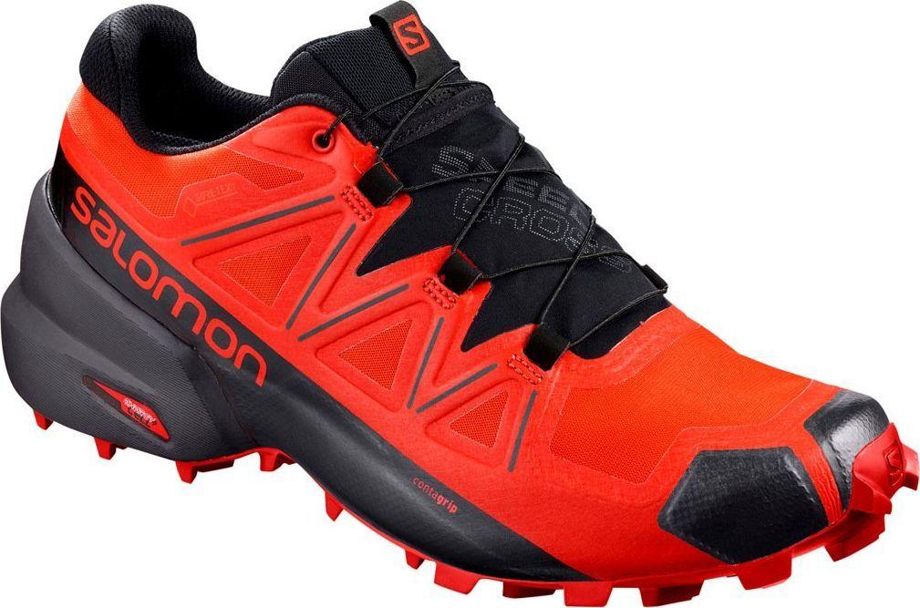 Salomon Buty Meskie Speedcross 5 Gtx Czerwone R 46 407965 W Sklep Presto Pl