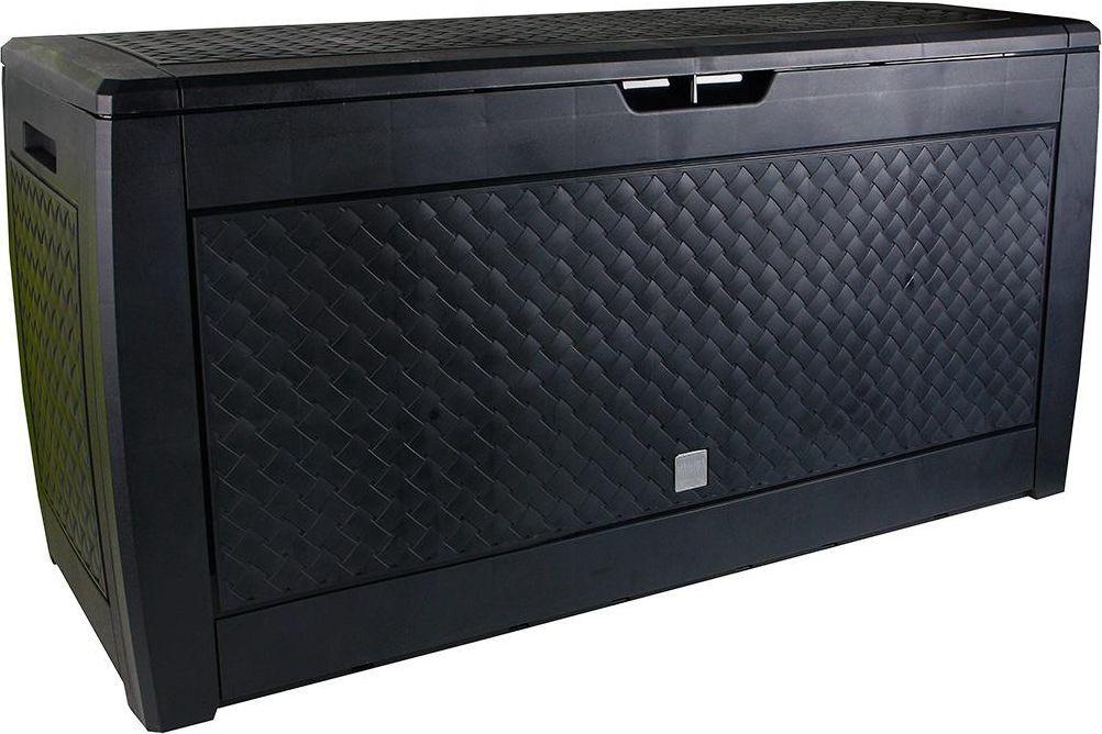 Prosperplast Skrzynia ogrodowa Boxe Matuba 310L - antracytowy 1