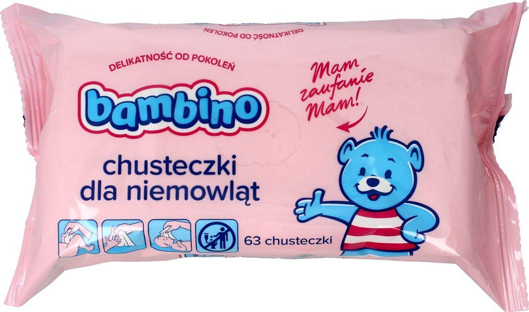 Bambino Chusteczki - wkład 1 opakowanie 63 sztuk 1