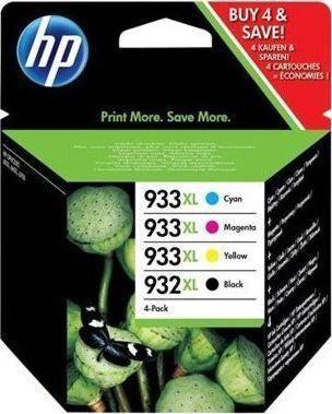 HP Tusz 932 XL/933 XL CMYK (C2P42AE) 1