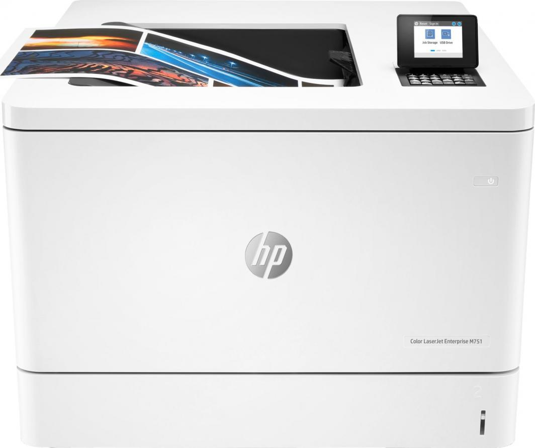 Drukarka laserowa HP Color LaserJet Enterprise M751DN 1