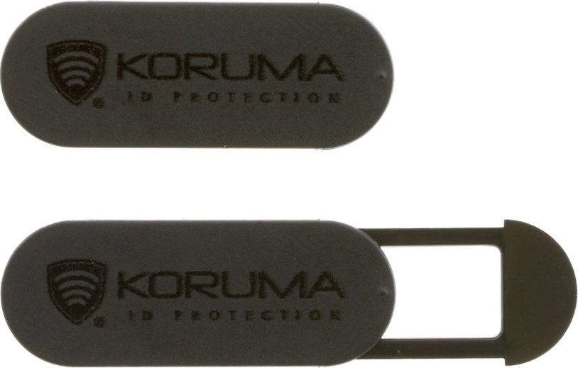 Dekielek KORUMA Czarna zaślepka na kamerę - Koruma (KUK-104BL) Uniwersalny 1