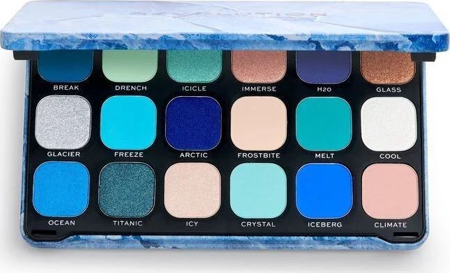 Makeup Revolution Forever Flawless Paleta Cieni do oczu Ice 1