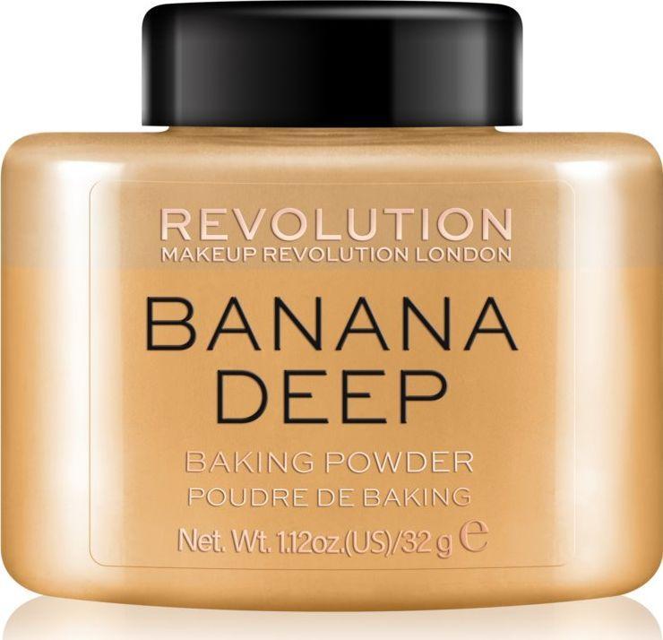 Makeup Revolution Loose Baking Powder Banana (Deep) 1