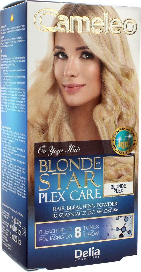 Delia Cosmetics Cameleo rozjaśniacz Blonde Star Plex Care  1