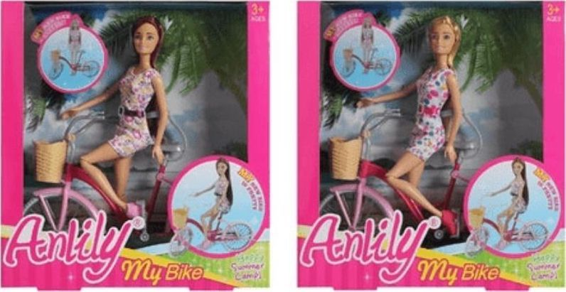Icom Lalka 30cm na rowerze (7132031) 1