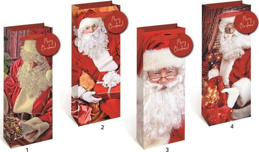 W&K Torebka świąteczna KR 2698 L brokat 1