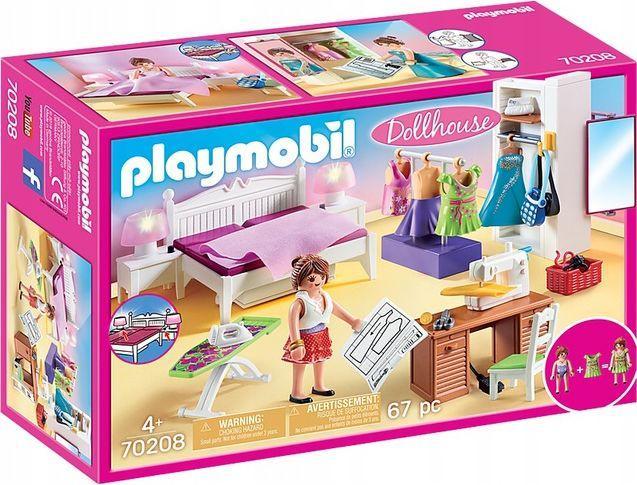 Playmobil Sypialnia Projektowa dom (70208) 1